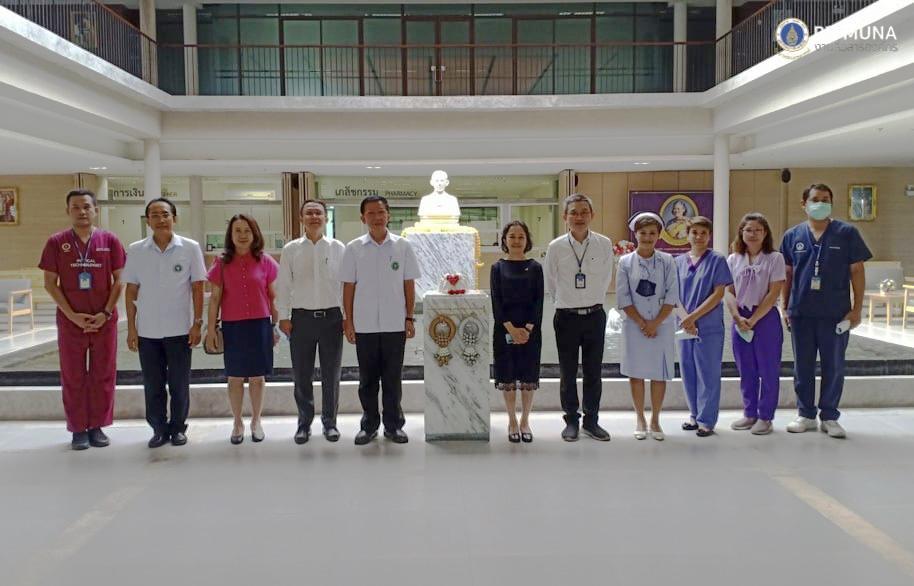 ทีมบริหารศูนย์การแพทย์ฯ ร่วมต้อนรับผู้ตรวจราชการกระทรวงสาธารณสุขภาพเขตที่ ๓